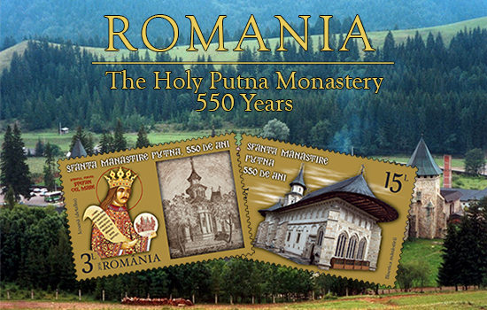 The Putna Holy Monastery, 500 years