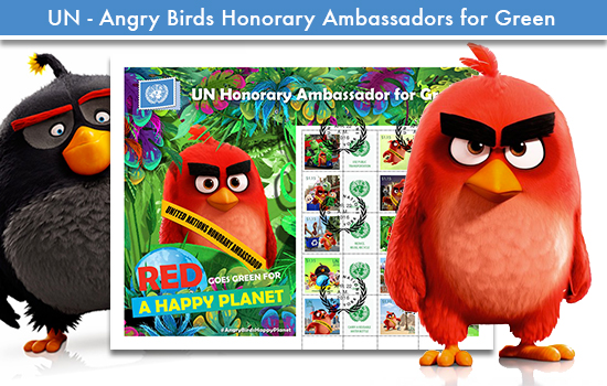Angry Birds – UN Honorary Ambassador for Green